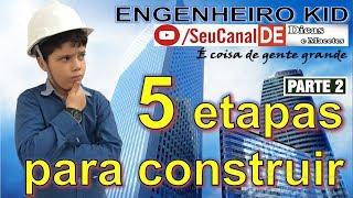 Você precisa saber: as 5 etapas para construir - Parte 02