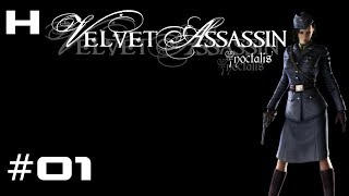 Velvet Assassin Walkthrough Part 01 [PC]