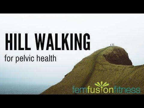 Hill Walking Tips for Core + Pelvic Floor Health