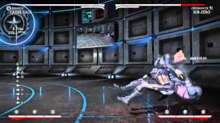 Brawler Cassie Cage Midscreen (11 30% ) and Corner Combos (10 31%)
