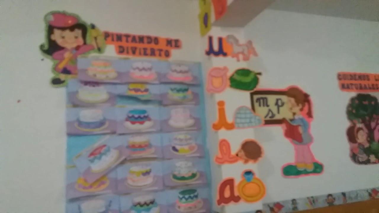 Decoracion del aula inicial aniversario del colegio for Decoracion aula primaria
