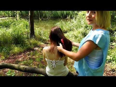 Zuzka ASMR summer hits 3*hair brushing*česání, kartáčování*ASMR