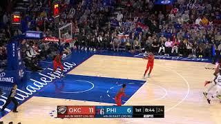 2nd Quarter, One Box Video: Philadelphia 76ers vs. Oklahoma City Thunder