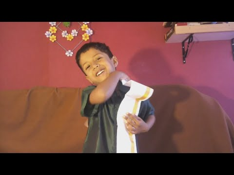 How to wear Ramraj Pocket  Dhoti | Tamil - Veshti, Kerala - Mundu | Velcro Otiko Katiko
