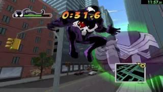 [Obsolete] Ultimate Spider-Man [PC] All Venom Races Speedrun In 22:50