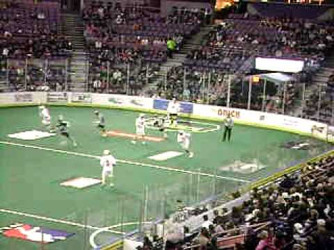 The Edmonton Rush vs The Boston Blazers