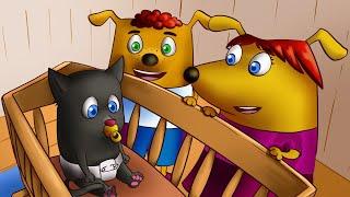 Семейка Собачек - Мультфильм про собак! Мультики для малышей. Развивающие мультфильмы детям