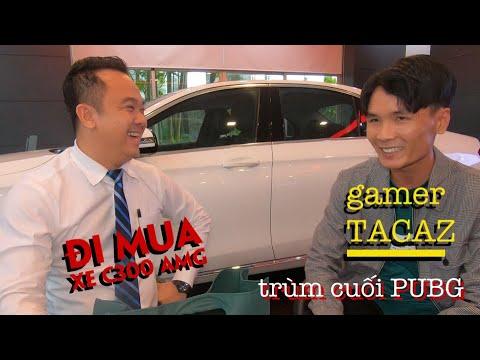 """Gamer Tacaz - """"trùm cuối"""" PUBG nộp cái rụp 2 tỷ mua con xe Mercedes nhanh như một cơn gió"""
