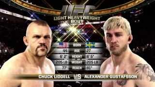 PS4 UFC....CHUCK LIDDELL VS ALEXANDER GUSTAFSSON ( FULL FIGHT )