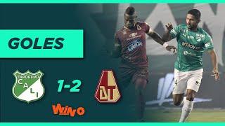 Deportivo Cali vs. Tolima (1-2)   Liga BetPlay Dimayor   Fecha 17