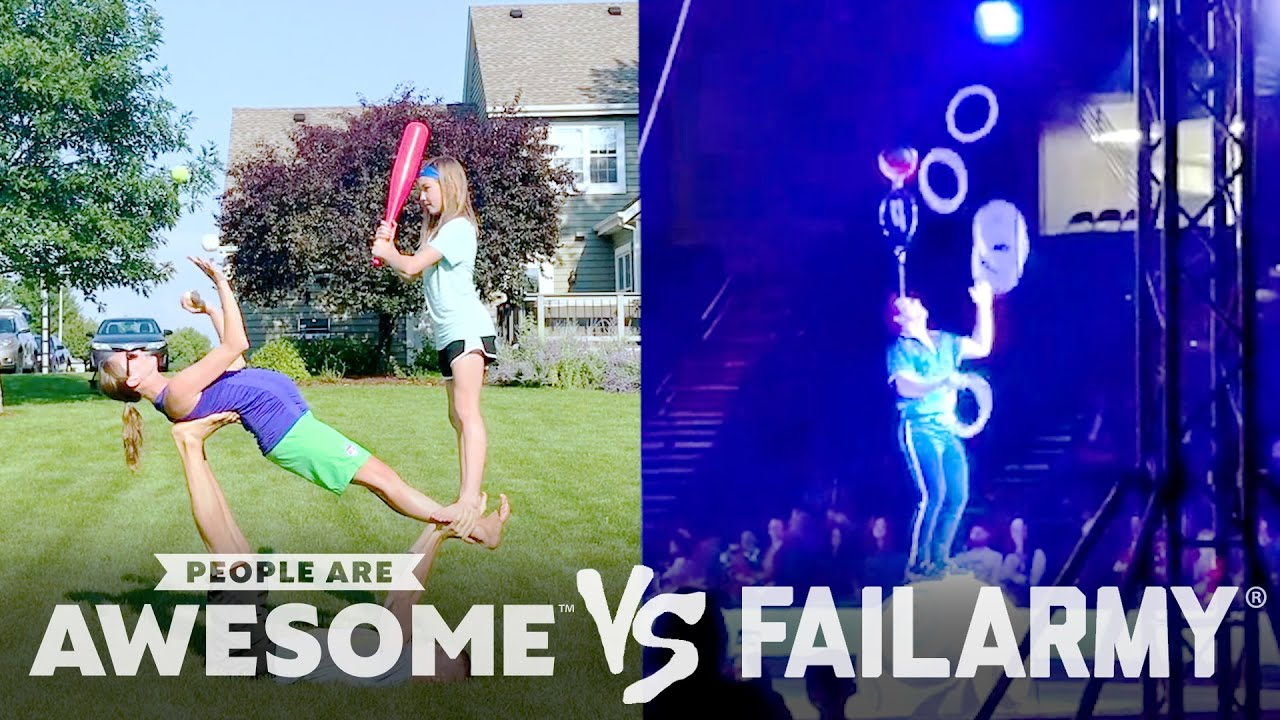 Wins VS. Fails In Archery, BMX, Jumprope, Juggling & More! | People Are Awesome VS. FailArmy