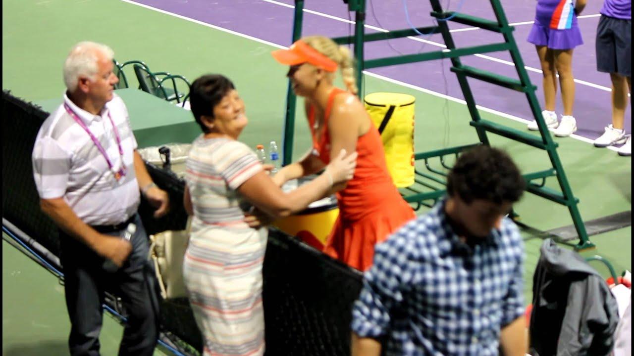 Caroline Wozniacki Rory Mcilroy Kiss Caroline Wozniacki and...