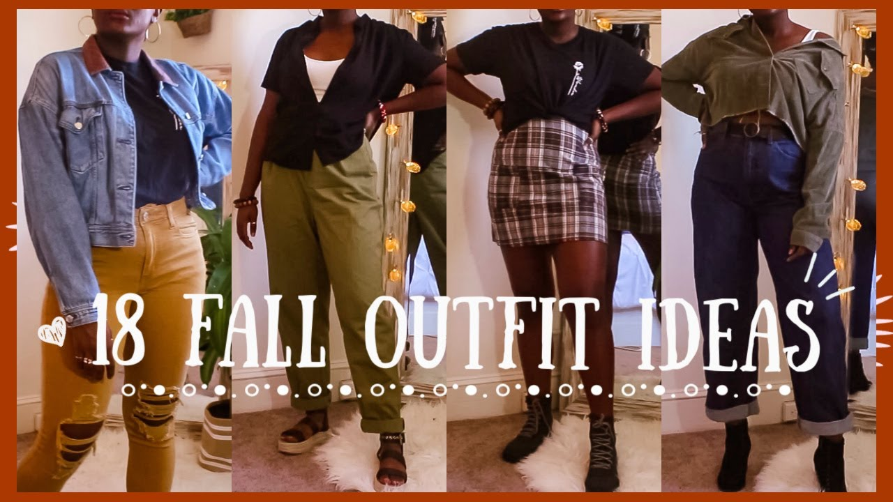 [VIDEO] – 18 Fall/Autumn Outfit Ideas 2019 | What I wear to College/Uni