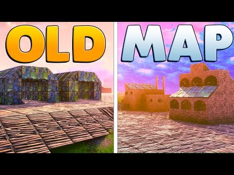 BUILDING THE OLD FORTNITE MAP | Fortnite Custom Game