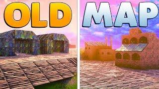 BUILDING THE OLD FORTNITE MAP | Fortnite Custom Game