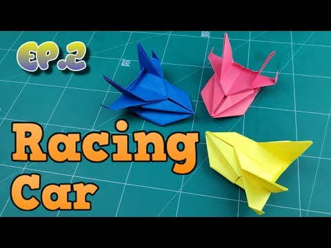 How To Make Easy Car Paper Model | Origami Car Way | DIY Paper Crafts Videos Tutorial Ep.2
