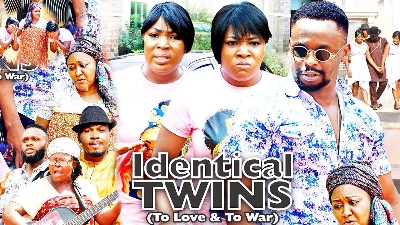 Download IDENTICAL TWINS SEASON 8 - 2020 LATEST NIGERIAN NOLLYWOOD MOVIE