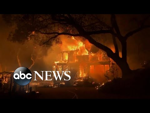 New wildfires scorch nearly 10K acres in Northern California l GMA