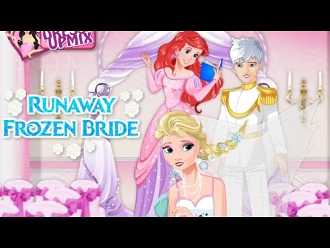 Свадьба эльзы и анны игры для девочек