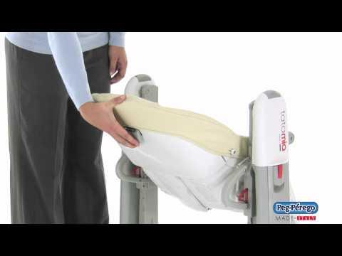 2011 High Chair – Peg Perego Tatamia – How to Recline the Seat