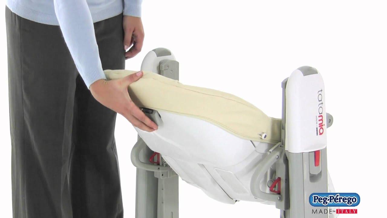 peg perego tatamia high chair captains gym machine 2011 how to recline the