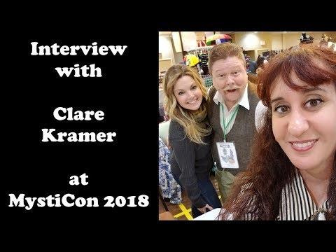 Clare Kramer  at MystiCon 2018