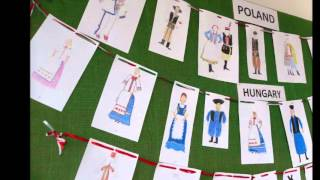 Drawing traditional costumes