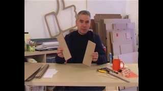 Александр Казарин: Выставочное оборудование из гофрокартона(Первая установочная лекция конкурса Точка Внимания в номинации