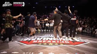 Found Nation vs Fusion MC   Final   Crew Battle   Invincible Breaking Jam Vol.3