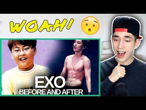 EXO - Predebut vs Now!