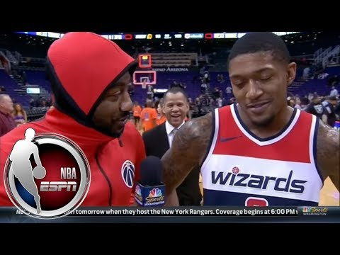 John Wall asks Bradley Beal the hard-hitting questions | ESPN
