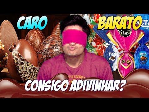 OVO DE PÁSCOA CARO vs BARATO Consigo adivinhar?