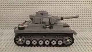 Как сделать немецкий танк Pz kmpf 3 из лего