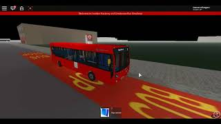 Roblox Londra Hackney & Limehouse bus Simulator E200 (lungo verson) 10.2m Stagecoach London Route 8