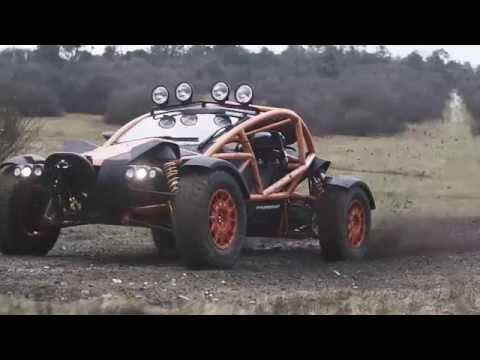 Ariel Nomad Off-roading - Top Gear Magazine