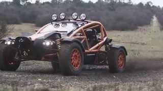 Ariel Nomad Off-roading - Top Gear Magazine