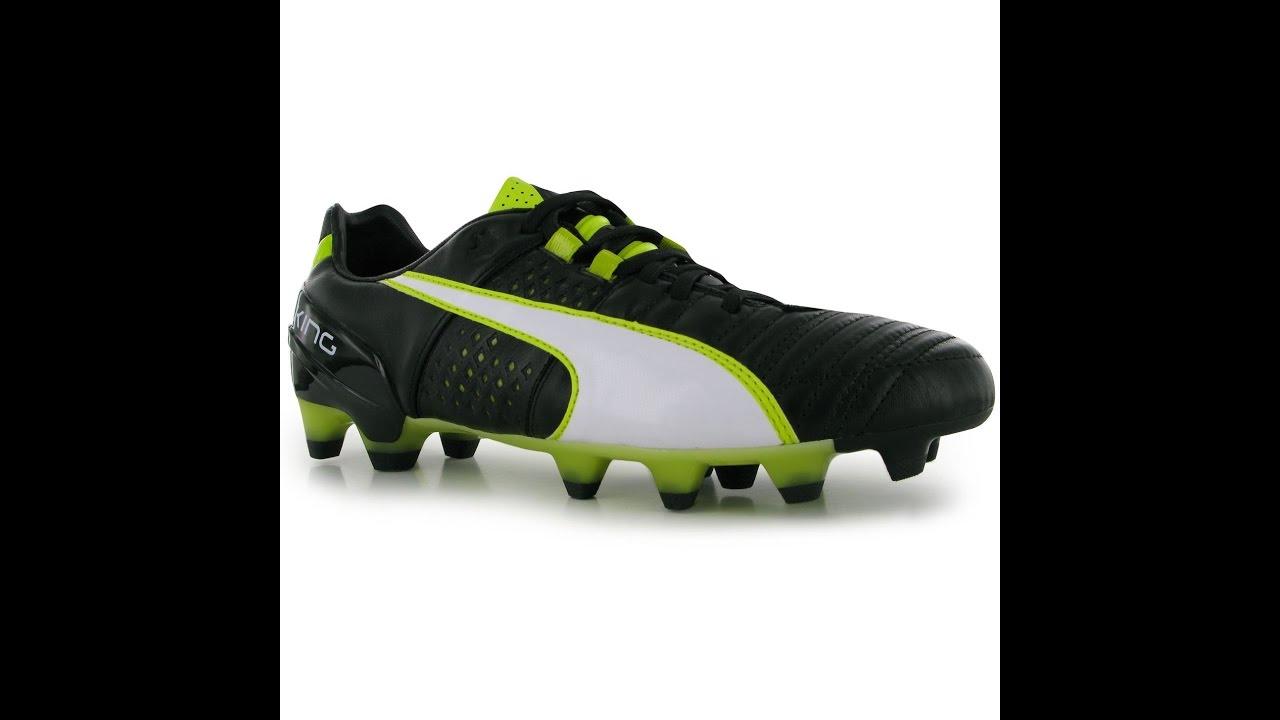 5b4641fb4824 Обзор бутсы Puma King II FG Mens Football Boots - YouTube
