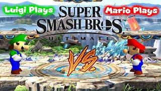 Luigi Plays: SUPER SMASH BROS ULTIMATE VS. MARIOOO
