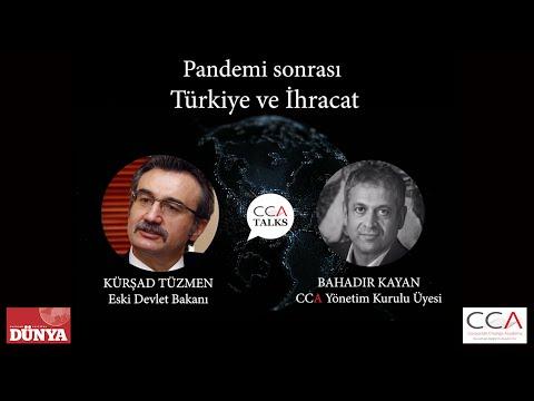 Pandemi Sonrası Türkiye Ve İhracat - Konuk  Eski Devlet Bakanımız Kürşad Tüzmen