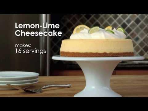 How To Make Lemon-Lime Cheesecake