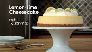 How To Make Lemon-lime Cheesecake