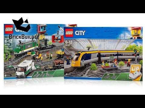 COMPILATION ALL LEGO City Trains 2018 - Speed Build For Collectors