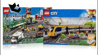 COMPILATION ALL LEGO City Trains 2018 - Speed Build