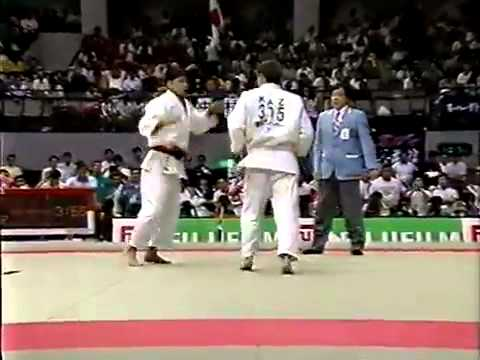 JUDO 1994 Asian Games: Yukimasa Nakamura 中村 行成 (JPN) - Ivan Karazelidi (KAZ)