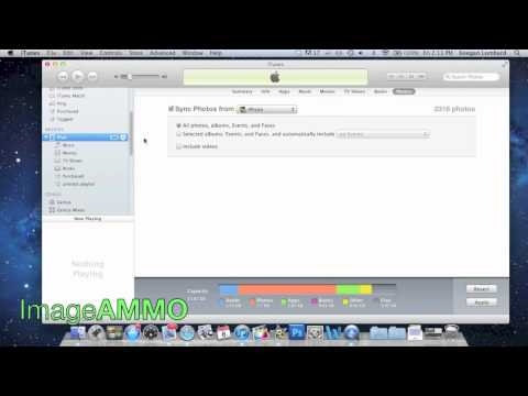 How to transfer photos from imac computer to ipad