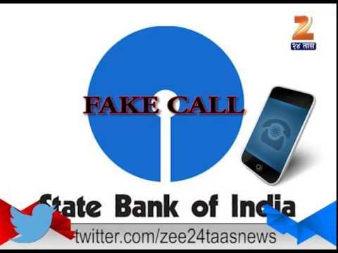 SBI Bank Fake Caller 20th August 2015
