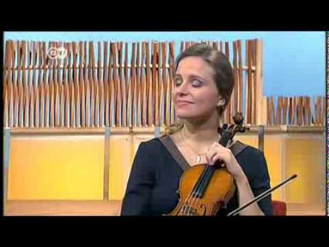 "Violinist Julia Fischer in ""Talking Germany"" on DW TV (English edition)"