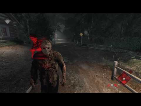 Friday the 13th: The Game - Jason Gameplay vs. Hacker