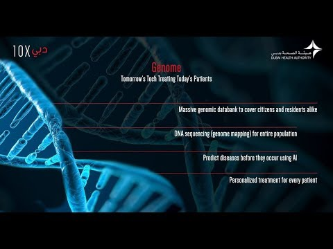 Dubai10X Initiative outlines human Genome Map for Dubai residents