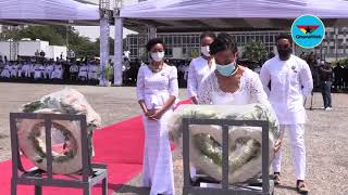 Rawlings' children pay last respect to their grandmother